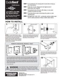 CycleGard 400 Series Installation Sheet