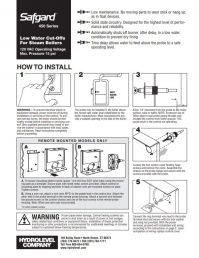 Safgard 450 Series Installation Sheet