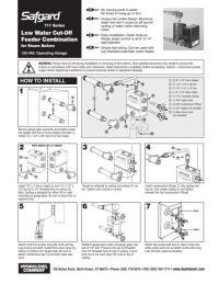 Safgard 711 Installation Sheet
