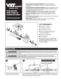 Model VXTC Installation Sheet