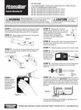 Hydrostat Remote Mounting Kit Instructions