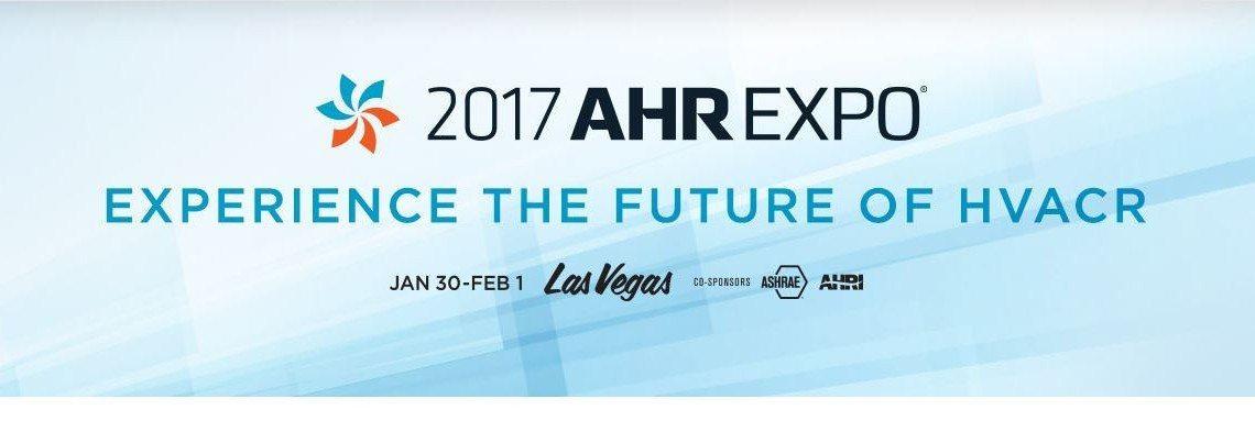See Us At AHR 2017!