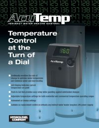 AcuTemp Sales Sheet