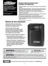 HydroStat 3200 Plus Installation Sheet (Spanish Translation)